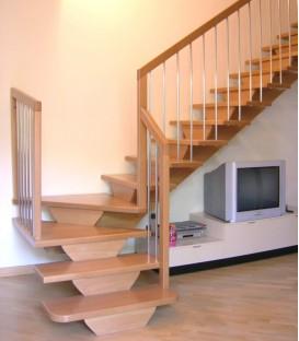 Scale in legno modena scala interni elicoidale esterne - Scale interne misure ...