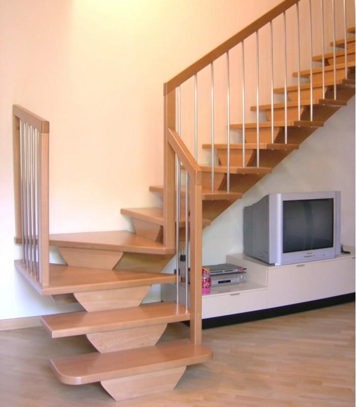 Scale di legno da interni zr77 regardsdefemmes - Scale per interni misure ...